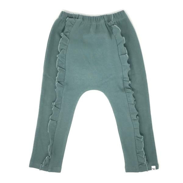 oh baby! Millie Ruffle Front Pant - Sea