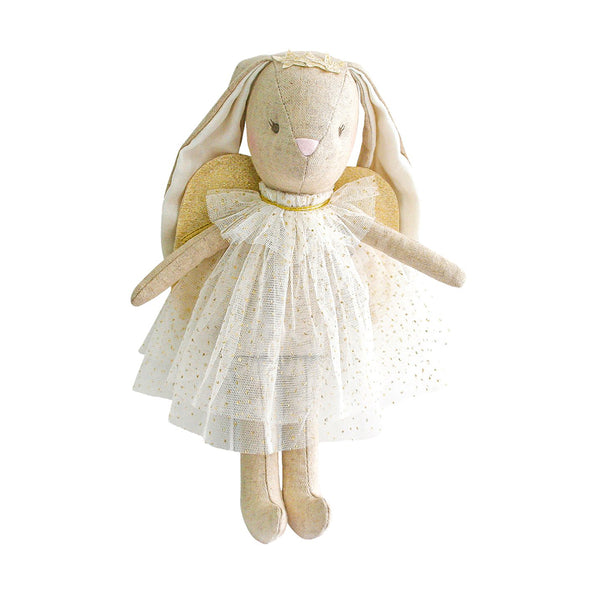 Alimrose Mini Angel Bunny Doll - Ivory
