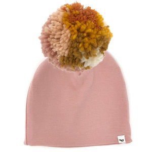 oh baby! Snap Pom Hat Blush Mix - Blush