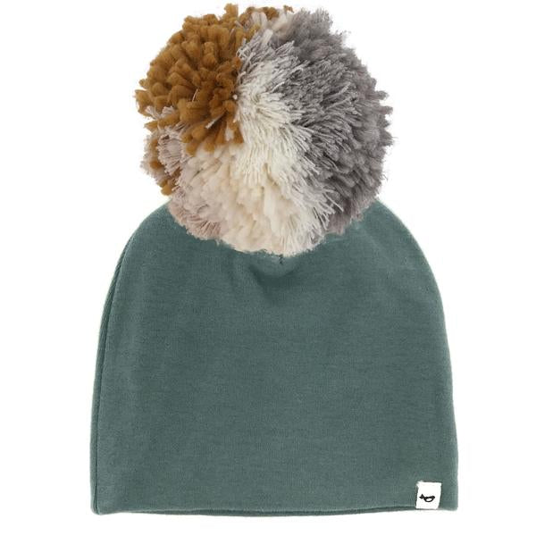 oh baby! Snap Pom Hat Neutral Mix - Sea