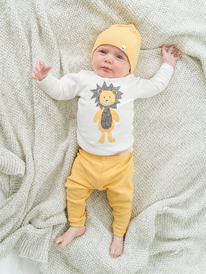 oh baby! Two Piece Set - Ragdoll Lion Maize Cream Mixed - Maize