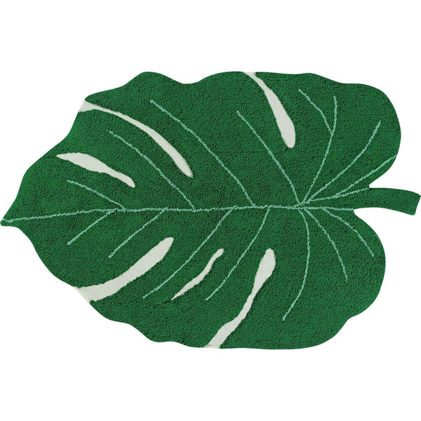 Monstera Leaf Rug - oh baby!