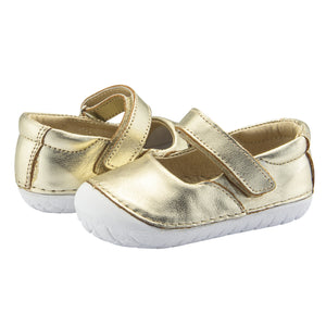 Old Soles Pave Jane Infant Baby Shoes - Gold