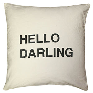 Sugarboo Designs Hello Darling Pillow - oh baby!