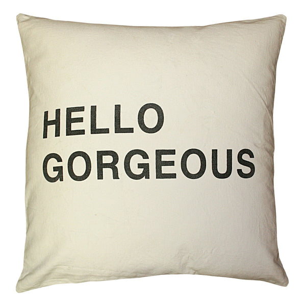 Sugarboo Designs Hello Gorgeous Pillow - oh baby!