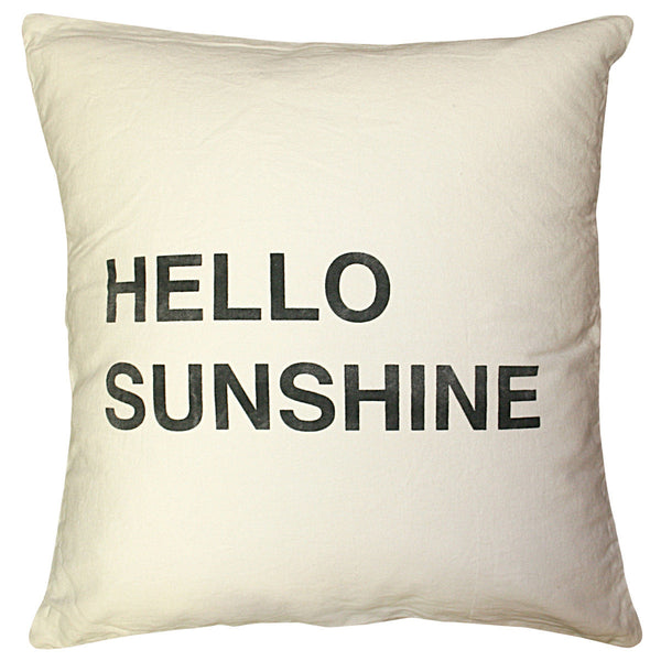 Sugarboo Designs Hello Sunshine Pillow - oh baby!