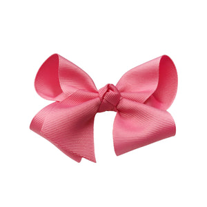 oh baby! Grosgrain Large Ribbon Bow Hair Clip - Pink - oh baby!