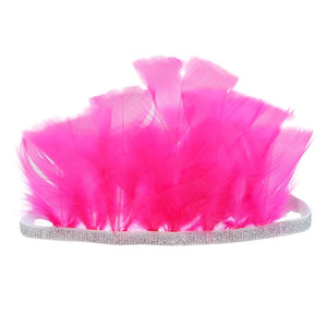oh baby! Pixie Crown Neon Pink - Silver