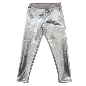 oh baby! Metallic Leggings - Silver