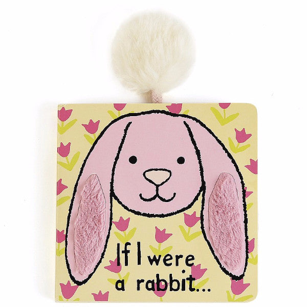 "Jellycat ""If I Were A Rabbit"" Board Book - oh baby!"
