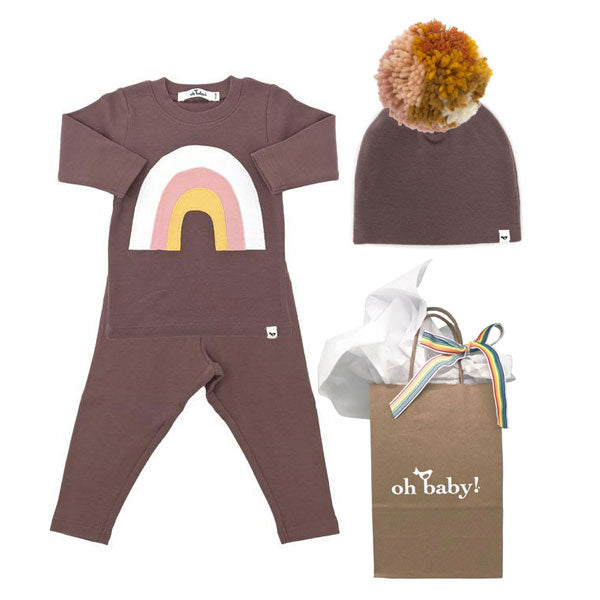 oh baby! Rainbow Gift Set - Lavender
