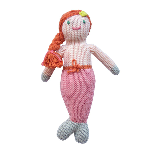 Blabla Knit Doll, Melody the Mermaid - Rattle - oh baby!