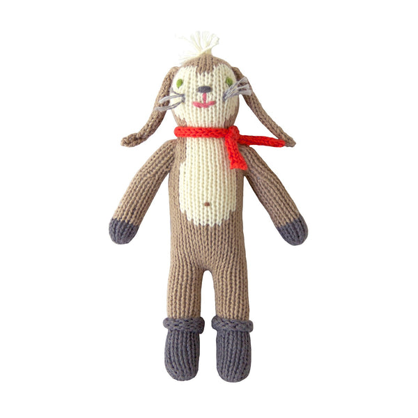 Blabla Knit Doll, Pierre the Bunny - Rattle - oh baby!