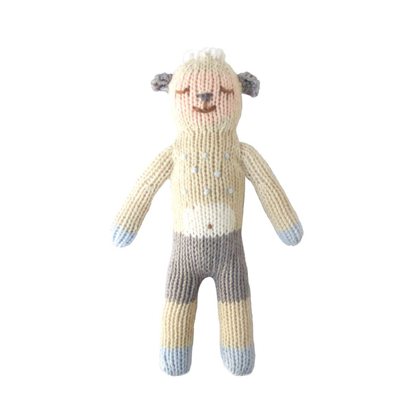 Blabla Knit Doll, Wooly the Sheep - Rattle - oh baby!
