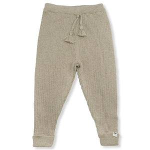 oh baby! Ribbed Knit Legging - Sand