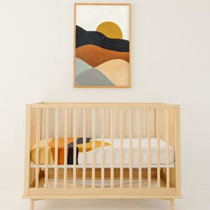 Clementine Kids - Crib Sheet - Sunset