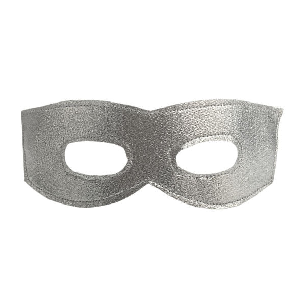 oh baby! Mask - Super Hero Mask - Silver