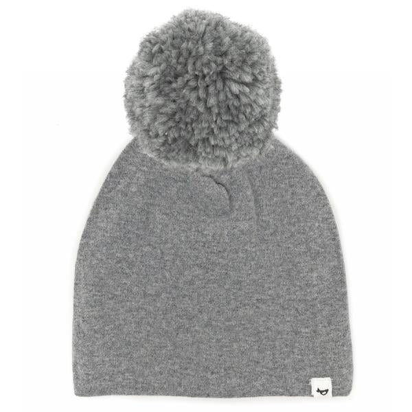 oh baby! Snap Yarn Pom Hat Grey - Coal