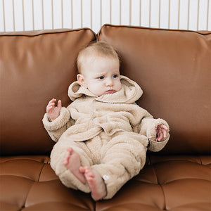 oh baby! Snowdrift Hooded Jacket - Tan