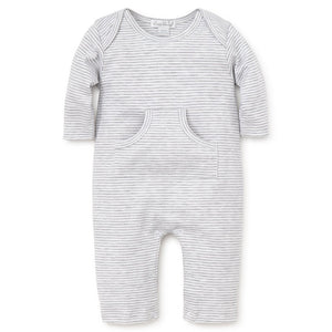 Kissy Kissy Essentials Stripe Playsuit - Grey