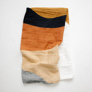Clementine Kids - Swaddle Blanket  - Sunset