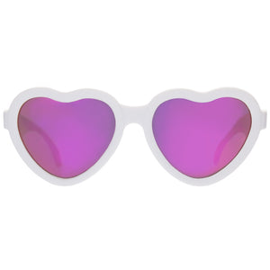 Babiators The Sweetheart Infant / Toddler Polarized Sunglasses - White - oh baby!
