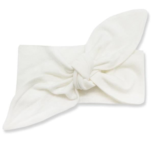 oh baby! Tie Turban Bamboo Headband - Cream