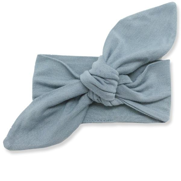 oh baby! Tie Turban Bamboo Headband - Sea