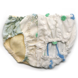 "oh baby! Anniversary Vintage ""One of a Kind"" Tushie Diaper Cover - 0-3 Months - oh baby!"