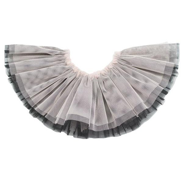 oh baby! Frill Tutu - Black with Apricot Overlay - Infant - oh baby!