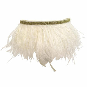oh baby! Tutu Topper Gold Band - Cream