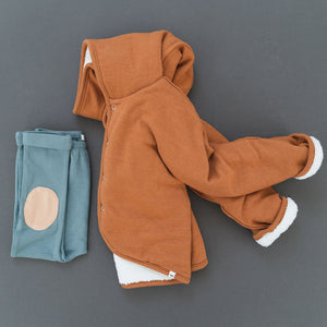 oh baby! Snowdrift Hooded Jacket, Rust