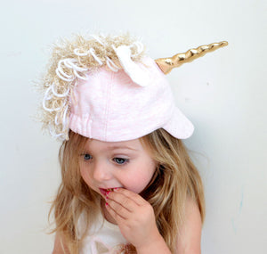 oh baby! Character Hat - Star Unicorn - Pale Pink