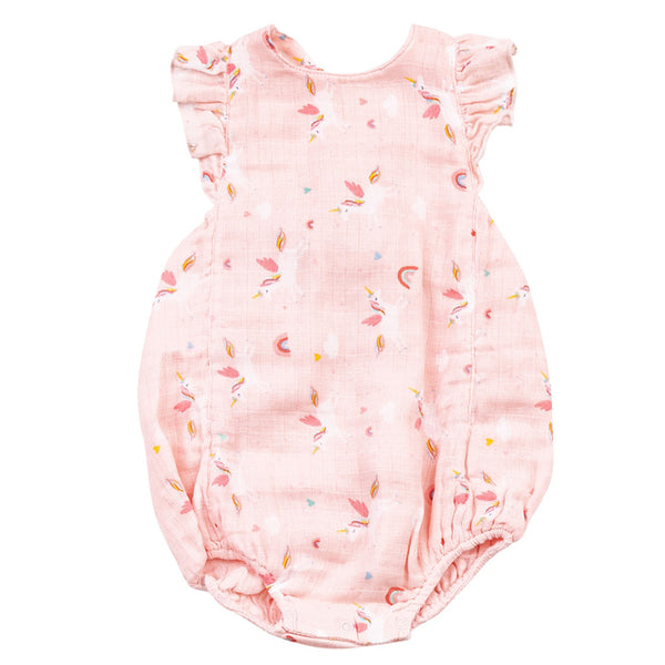 Angel Dear Unicorns Sunsuit - Front