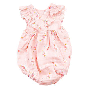 Angel Dear Unicorns Sunsuit - Back
