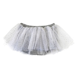oh baby! Glinda Tushie Diaper Cover - White - Heather Gray