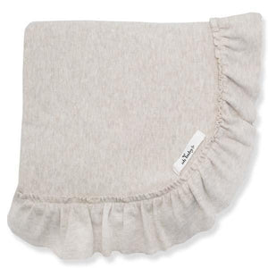 oh baby! Winter Ruffle Blanket - Sand