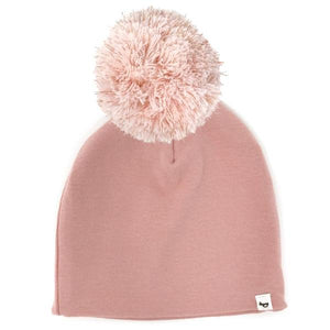 oh baby! Snap Yarn Pom Hat Rose Gold Stardust - Blush