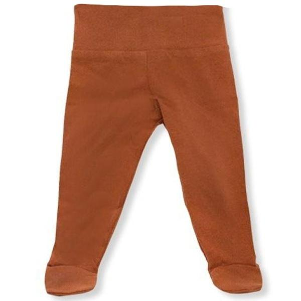 oh baby! Yoga Footie Pant - Rust