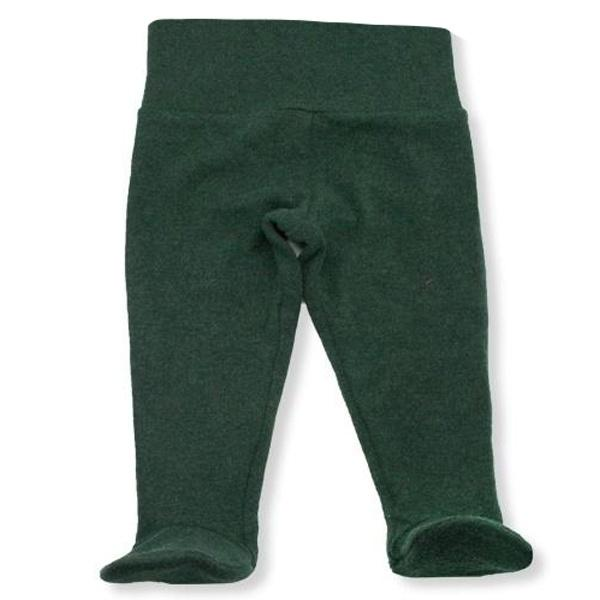 oh baby! Yoga Footie Pant Baby Rib - Forest