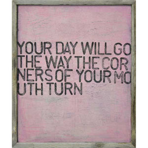 Your Day Will Go Framed Art Print
