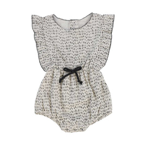 Message In The Bottle Yvette Printed Baby Bubble Onesie - oh baby!