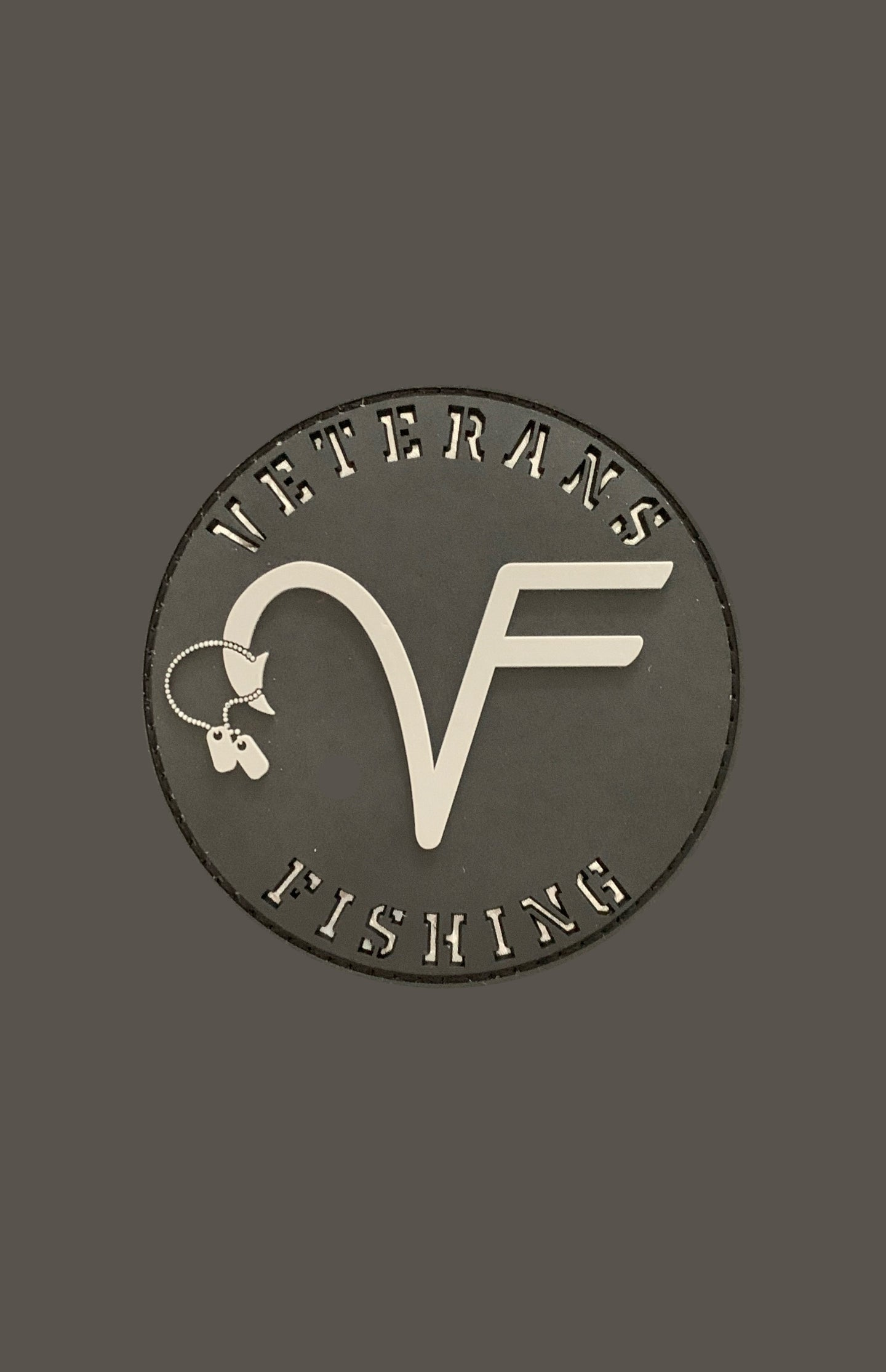VF 'Blackout' Patch (reflective lettering)