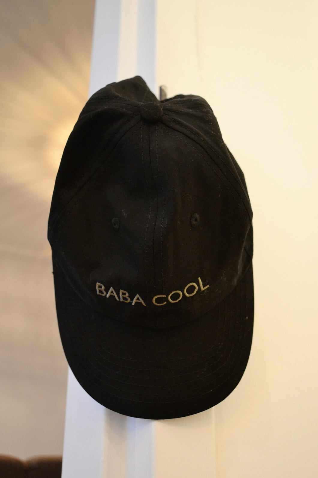 NOMADPAULETTE l BABA COOL CAP BLACK EMBROIDED