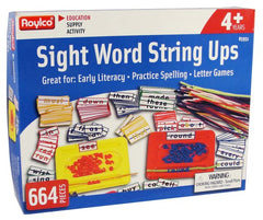 Sight Word String-Ups