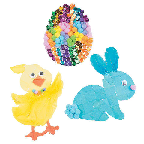 Picture of Easter Sticky Board Craft Kit 3pack
