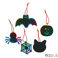Magic Colour Scratch Halloween (4pk)