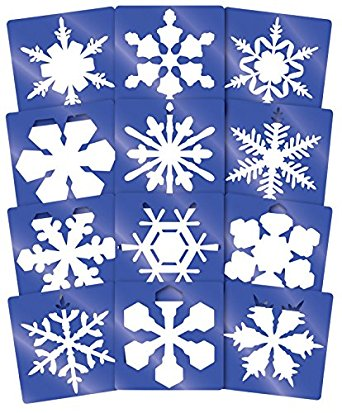 Picture of Snowflake Stencil