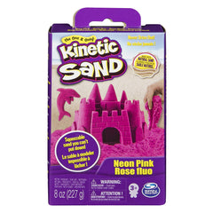 Kinetic Sand 8oz Sand Box: PINK