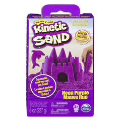 Kinetic Sand 8oz Sand Box: PURPLE